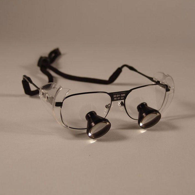 Lupa Dental Binocular personalizada 3X TTL, lupa quirúrgica para cirugía, lupa para cirugía, 550, 500, 420 y 340mm