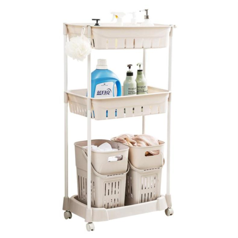 سلة الغسيل ، الغسيل ، الملابس القذرة ، سلة التخزين ، الكلمة ، الحمام المنزلية ، رف تخزين الحمام ، الرف