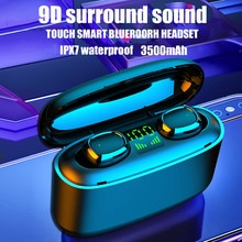 Sluchawki TWS Bluetooth Wireless Earphones Stereo Earbuds Waterproof Headset Music Headphones For Xi