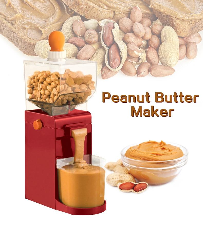 Машина для переработки арахисового масла Jamielin, мельница для арахисового масла, мельница для орехов кешью, машина для масла, машина для масла