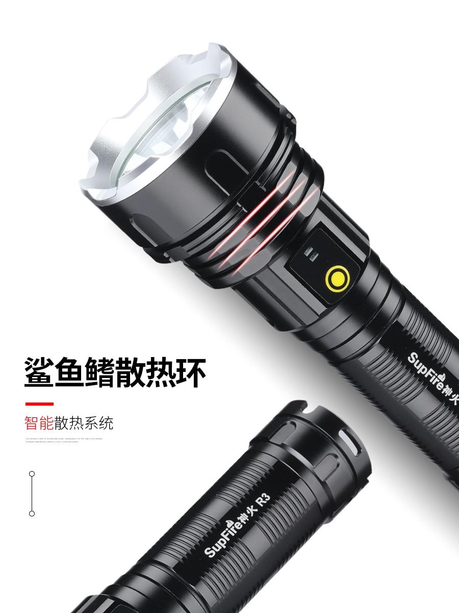 mais poderoso militar lampada 18650 lanterna recarregavel cor dazzeler nightcore