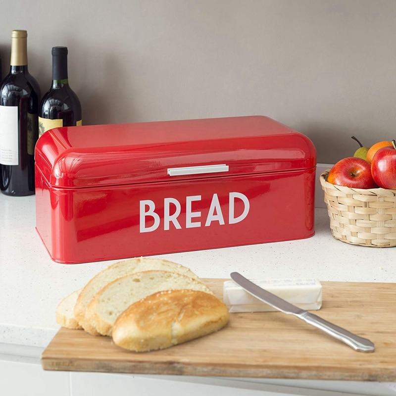 صندوق تخزين المطبخ ، ريترو ، غطاء مسطح ، صندوق تخزين المطبخ الأوروبي