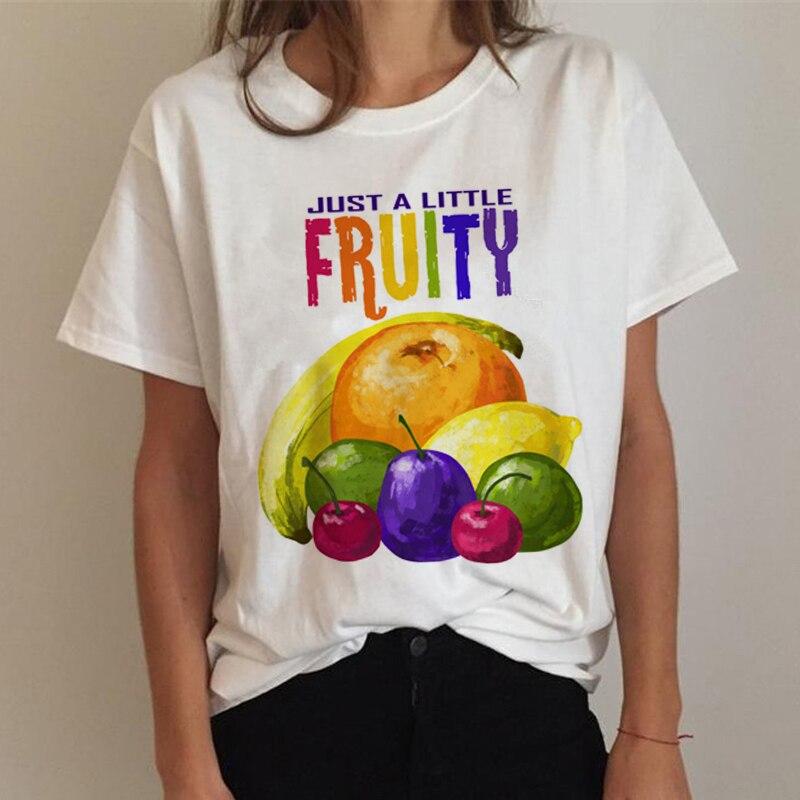 T Shirt Women Gay Pride Shirt Lesbian Rainbowc Love Is Love T-shirt Harajuku Ullzang Funny Tshirt 90s Graphi Top Tee Female