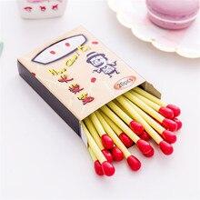 Bolígrafo De 20 unids/caja con forma de Mini partido para útiles escolares de escritura accesorios de oficina y papelería regalos para niños y estudiantes
