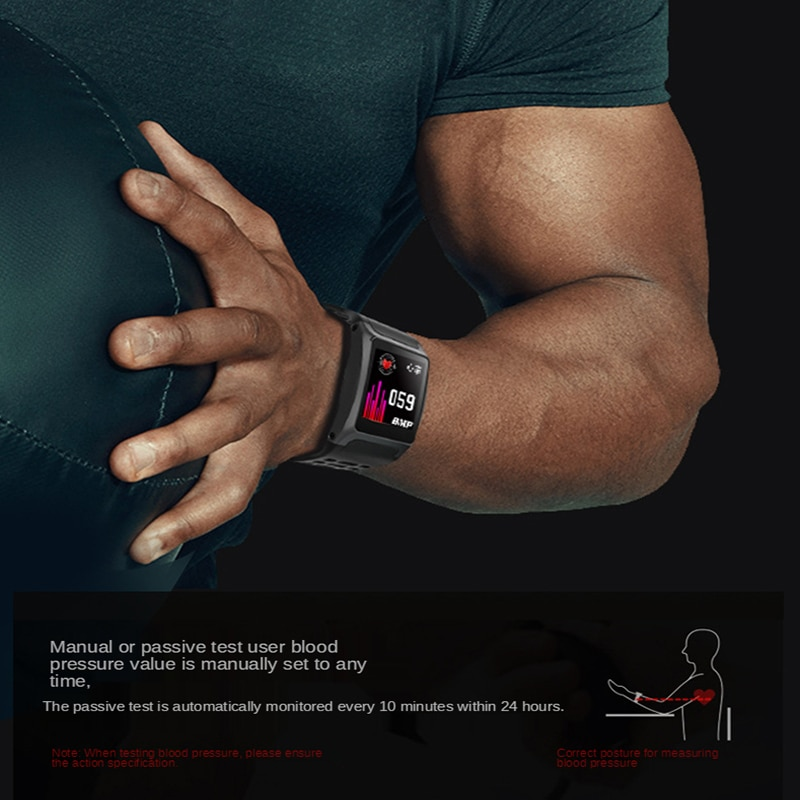 Z01 New Men's and Women's Smart Bracelet 1.3-inch Large Screen Information Selfie Waterproof Screen Sports Heart Rate K1