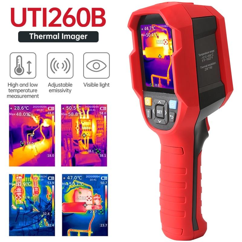 UNI-T UTi260B UTi85A الأشعة تحت الحمراء الحرارية تصوير كاميرا تصوير حراري الصناعية-15 ~ 550 درجة مئوية يده USB الأشعة تحت الحمراء ميزان الحرارة هانت