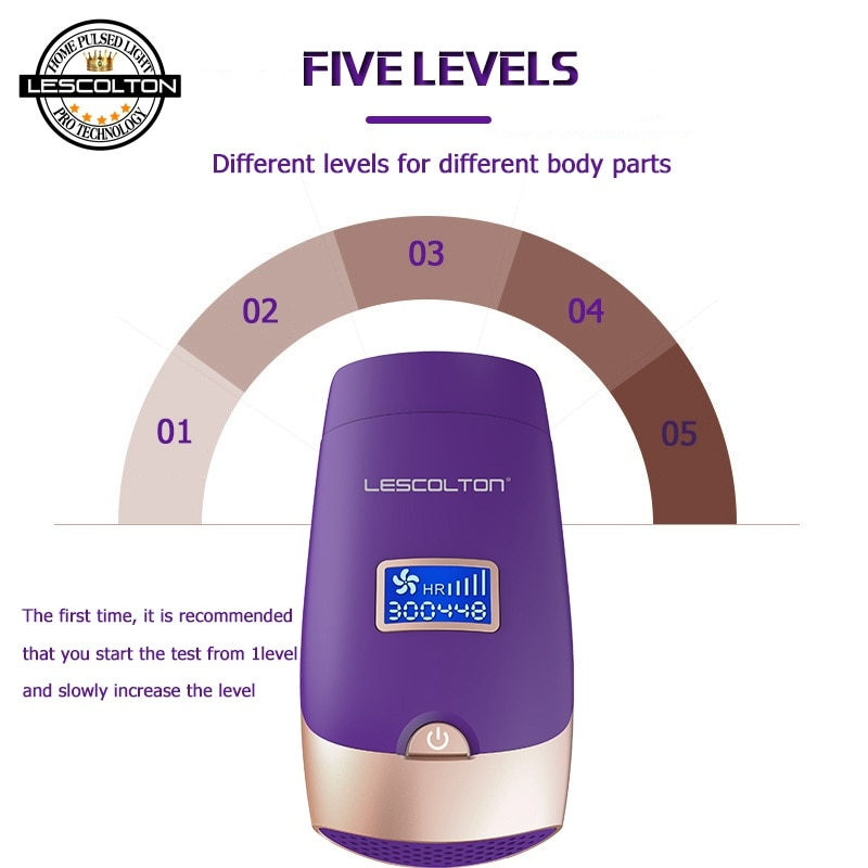 100% Original Lescolton 6in1 5in1 4in1 3in1 IPL Laser Hair Removal Device Permanent Hair Removal IPL laser Epilator Armpit enlarge