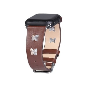 Genuine Leather Wristband for apple watch series 3 band 42mm 44mm Breathable iwatch 5 4 2 Replacement 40mm watchband 38mm strap