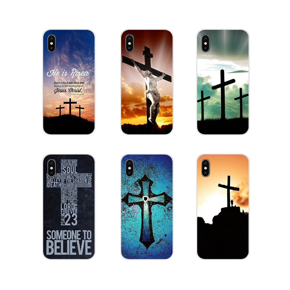 Cobertura oriwood Bíblia Jesus Cristo Cruz Cristã Para Huawei G7 G8 P7 P8 P9 P10 P20 P30 Lite Mini Pro P Smart Plus 2017 2018 2019