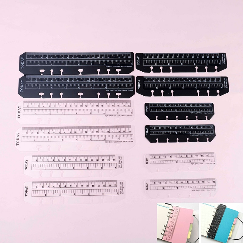 Фото - 2pcs/lot Bookmark Rulers  For Binder Planner Notebooks  School Office Index Ruler Bookmark Notebooks Accessories jonathan littell syrian notebooks