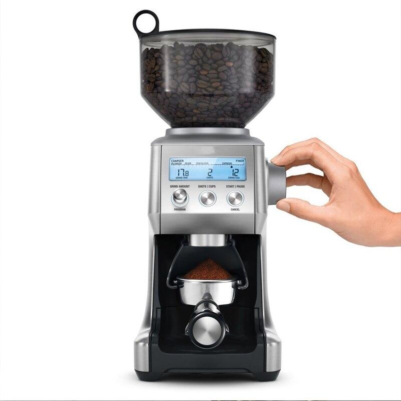 اسبريسو حبوب البن طاحونة الكهربائية ماكينة طحن القهوة 60 الملفات طحن التجارية المهنية اسبريسو مطحنة القهوة