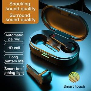 For Phone Xiaomi Mic TWS 5.0 True Wireless Earphones Bluetooth Earphones 9D Hifi Stereo Wireless Earphone Sport Earbuds Headse