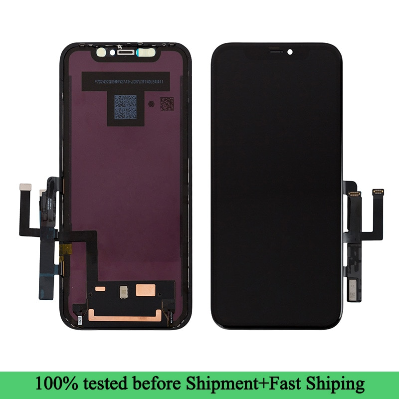 Replacement LCD Touch Screen Display Digitizer for iPhone XR 6.1 Inch Black enlarge