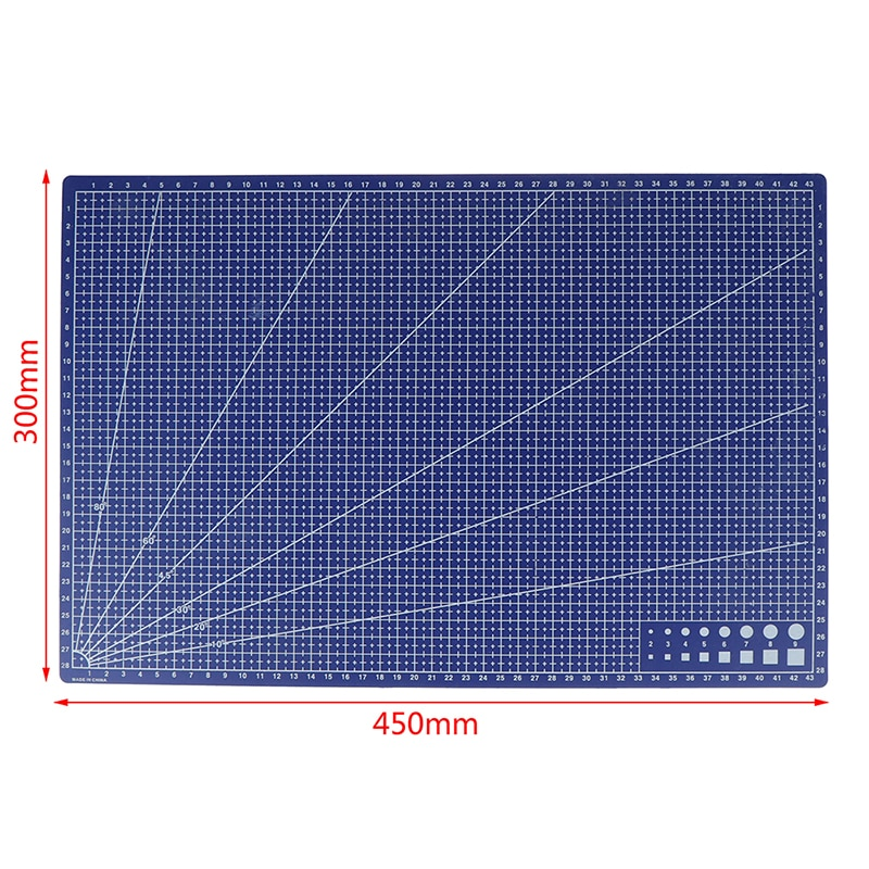 1pcs-a3-pvc-rettangolare-griglia-linea-di-taglio-zerbino-fai-da-te-strumento-di-45-centimetri-x-30-centimetri