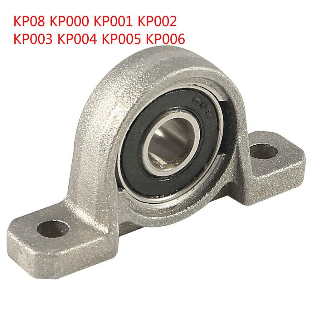 4 قطعة كتلة تحمل مصغرة KP004 20 مللي متر ضياء تتحمل الكرة رمح كروية الأسطوانة شنت وسادة كتلة تحمل KP
