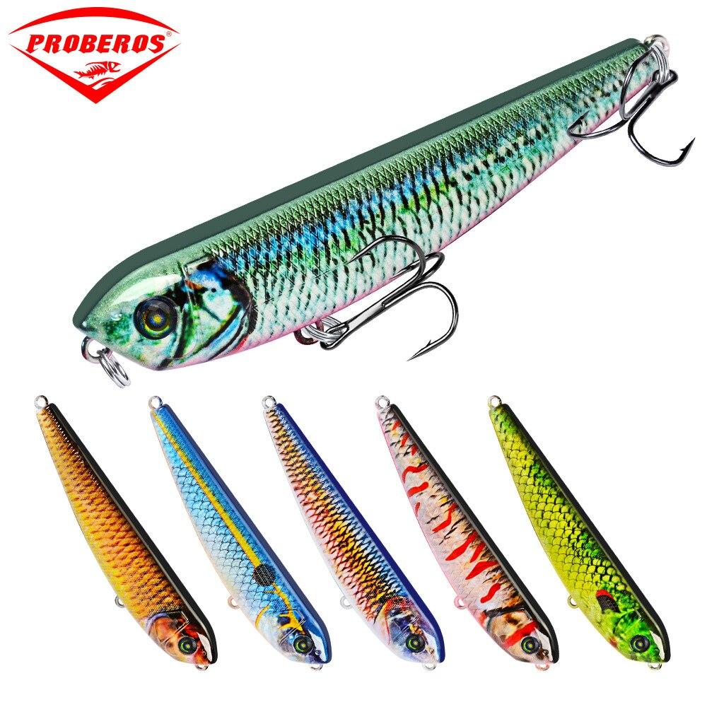 Новое поступление, 1 шт., 6 цветов, верхняя рыболовная приманка, 8,5 г-0,30 унций/9 см-3,54 дюйма, рыболовные снасти, рыболовная приманка в образце, Opp ...
