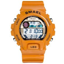 Luxury Brand SMAEL Men's Watches Led Digital Wristwatches Big Dial Men Sports Watches 50M Waterproof
