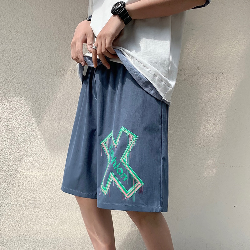 Sports Shorts Summer style middle pants running loose casual five-cent pants