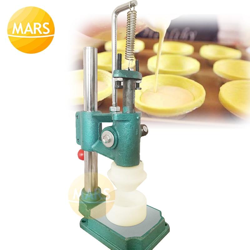 Manual de tarta de huevo de herramienta de cocina tarta de moldeo máquina de prensado máquina extrusora de masa