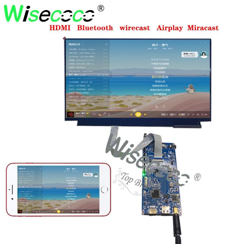 شاشة عرض ل 1920X1200 1920X 1080 EDP 30 دبوس مع بلوتوث واي فاي متوافق مع iphone iPad Android
