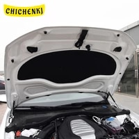 for audi a6 c7 2011 2018 car heat sound insulation cotton front hood engine firewall mat pad cover noise deadener accessories