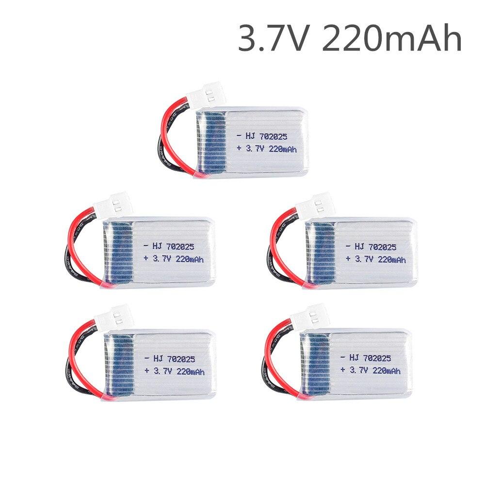 Lipo Batterie 3,7 V 220mAh für Syma X4 X11 X13 Fernbedienung Hubschrauber 3,7 V lithium-batterie Flugzeug modell 752025