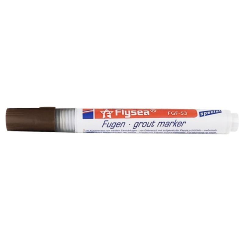 1 шт., ручка для затирки для домашней плитки коричневого цвета, водостойкая, для кухни, мгновенный керамический шов, плитка для ремонта пола, анти-плесень, красивый маркер