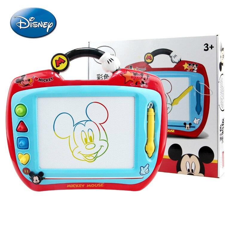 Детская доска для рисования Disney волшебная доска для рисования детская доска для рисования игрушки для детей 1-3 лет цветная доска для рисова... доска для рисования детская quercetti для обучения математике и рисования 5323