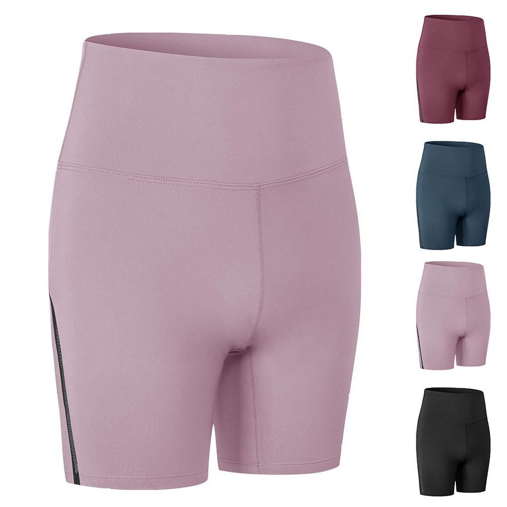 Женские шорты-Чино с высокой талией, спортивные брюки, женские простые облегающие эластичные брюки для йоги, повседневные