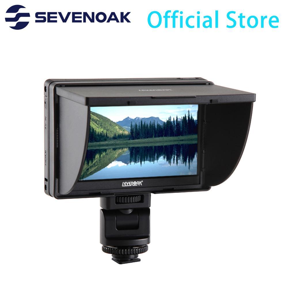 Sevenoak SK-LM5 en la Cámara Monitor IP Cámara pantalla Extra diseñada para cámaras Nikon Canon Sony DSLR