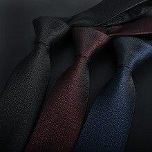 Pure color casual 6CM men's tie