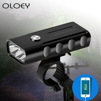 5200mAh USB Charging Glare Night Riding Bicycle Light Mountain Bike Bicycle Light Riding Headlights Headlights Riding Equipment