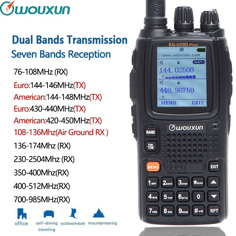 Plus Seven Bands Reception Dual Bands Transmission Air Band Classic Circuit Cross Band Repeater enlarge