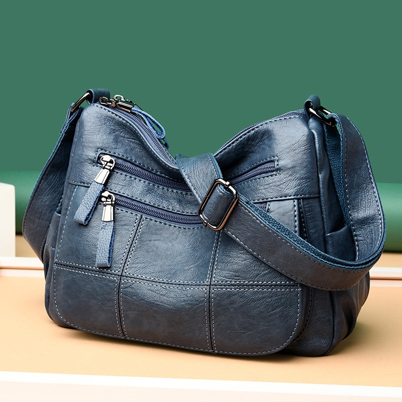عالية الجودة جلدية فاخرة حقائب النساء حقائب مصمم الكتف Crossbody حقائب للنساء 2021 جديد بولسا الأنثوية Sac
