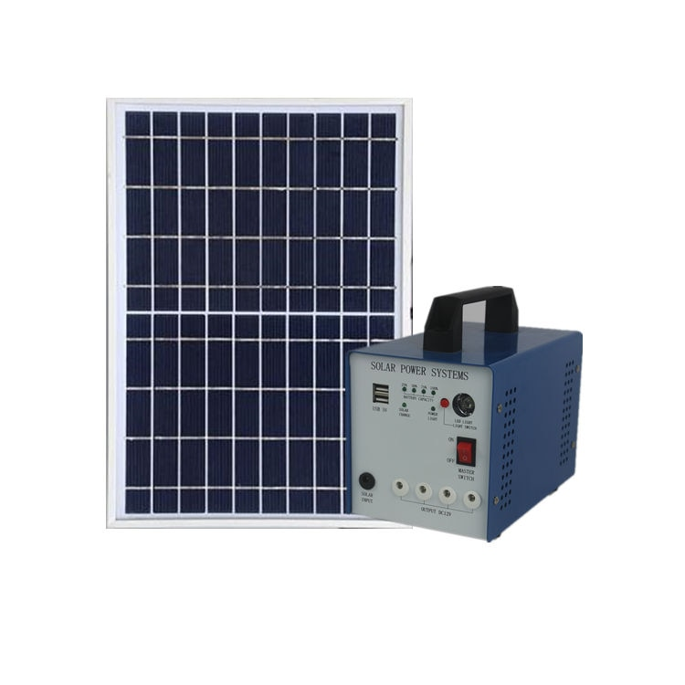 fotovoltaic panel system  50w on off grid panel solar kit completo  with battery and inverter Solar Energy System enlarge