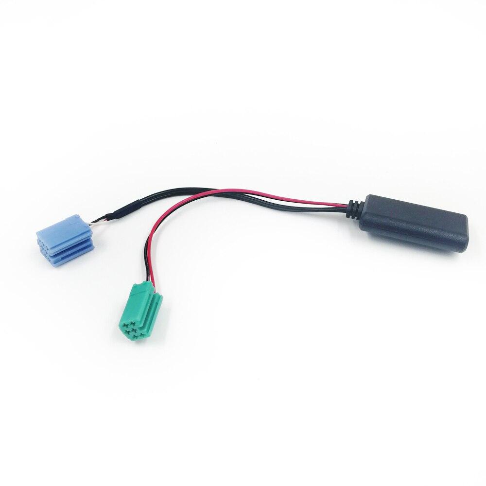 Biurlink-miniadaptador de Cable Aux para Radio de coche, conector de 8 pines,...