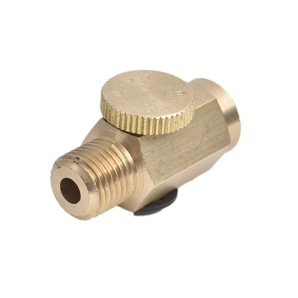 Novedosa válvula reguladora de flujo de aire herramientas neumáticas de latón # BO