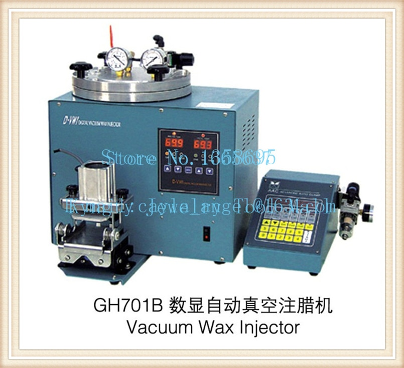 Hot Sale 220V craft jewelry tool s Digital Vacuum Wax Injector Wax Injection Machine with Advanced Auto Clamp