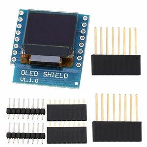 0.66 Inch OLED Display Module For WEMOS D1 MINI ESP32 Module Arduino AVR STM32 64x48 LCD Screen IIC I2C OLED