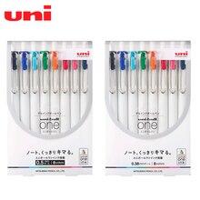 Uni UMN-S-05 / 38 Uni-ball une presse couleur Gel stylo 8 couleurs ensemble Signature étudiant examen stylo japonais papeterie prix
