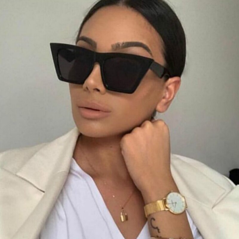 Luxury Cat eye Sunglasses Women Brand Design 2020 New Personality Sun Glass For Women Female Lady Trend Mirror Eyewear UV400
