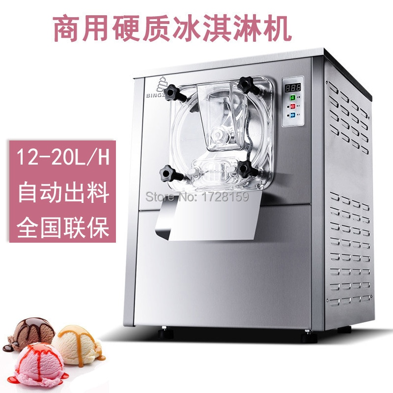 112Y máquina comercial de rollo de helado duro para la venta