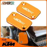 for ktm 200 400 450 500 525 530 xc 150exc tpi 300exc tpi motorcycle accessories front brake clutch fluid reservoir cover cap