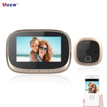 720P Video Doorbell 4.3 inch LCD Digital Camera Doorbell Home Security Night Vision Peephole Viewer