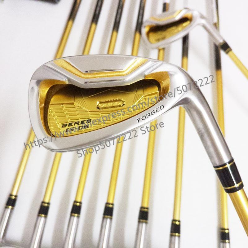 Limit discounts Golf Clubs honma s-06 4 star GOLF irons clubs set 4-11Sw.Aw Golf iron club Graphite shaft