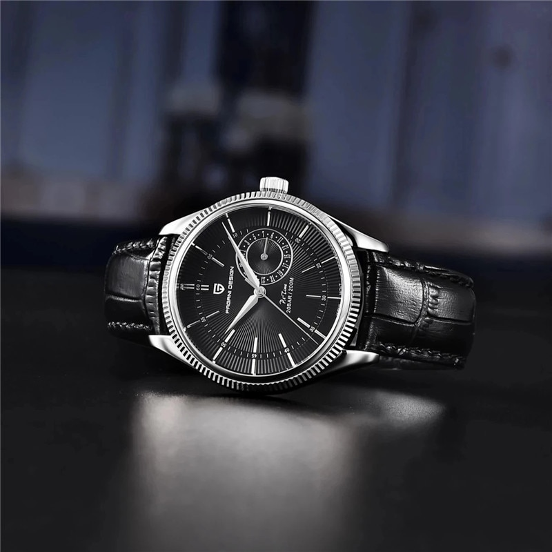NEW PAGANI DESIGN Original Men Watch Casual Sports 200M Waterproof Watch VH65 Movement Leather Strap Quartz Watches reloj hombre enlarge