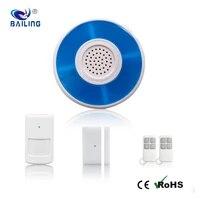 Systeme dalarme de securite domestique sans fil  sirene lumineuse  anti-cambriolage