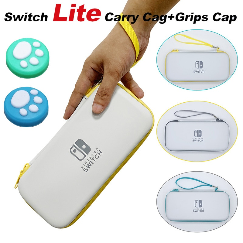 Portable Travel Accessories For Nintendo Switch Lite Console Case NSL Game Card Storage Carrying Bag Waterproof Protection Pouch