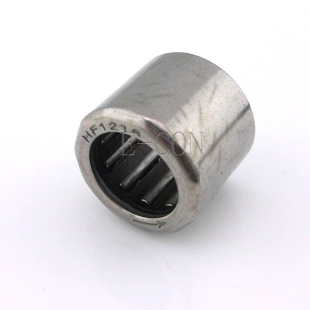 1/2/5/10 Uds. HF0612 cojinete de agujas en miniatura de embrague unidireccional (6mm * 10mm * 12mm)