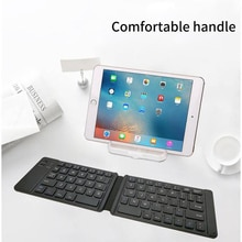 Bluetooth Keyboard Light And Handy Bluetooth 3.0 Folding Keyboard Foldable BT Wireless Keypad For Phone Laptop Gaming Keyboard